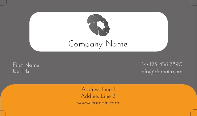 Poly frost business cards card 433 colourmoves