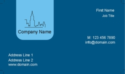 Poly frost business cards card 437 colourmoves