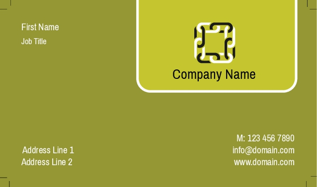 Poly frost business cards card 438 colourmoves